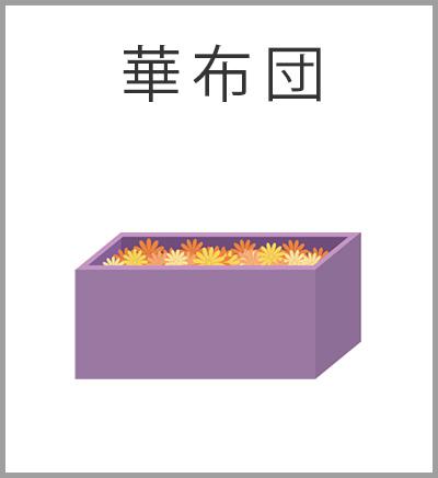 ファミリーホール湘南台、華布団火葬プラン・華布団