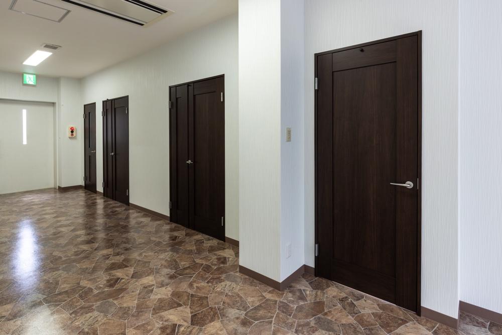 ファミリーホール湘南台、4室のご安置室を完備