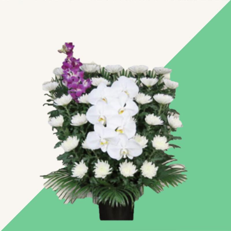 ファミリーホール湘南台、供花のご案内:白菊 16,500円
