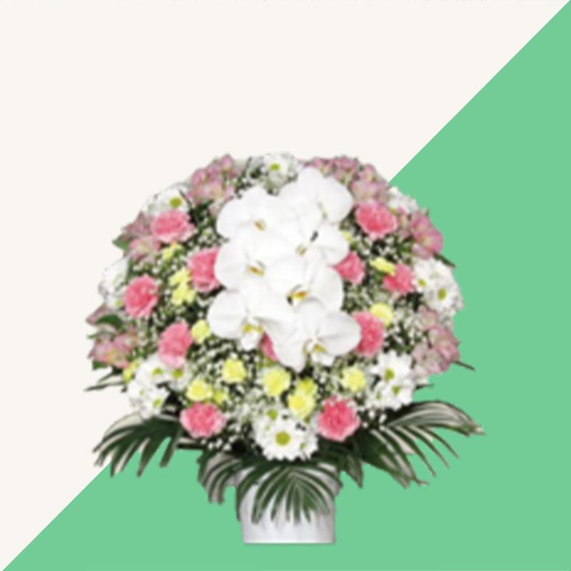 ファミリーホール湘南台、供花のご案内:洋花(ピンク) 16,500円